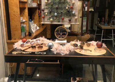 Escaparate Federópticos Idiakez Navidad 2018