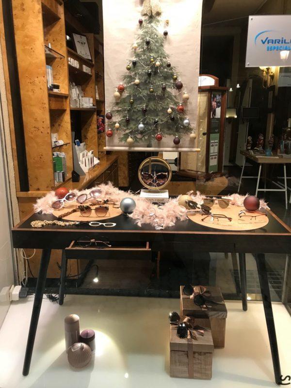 Escaparate Navidad Federópticos Idiakez 2018