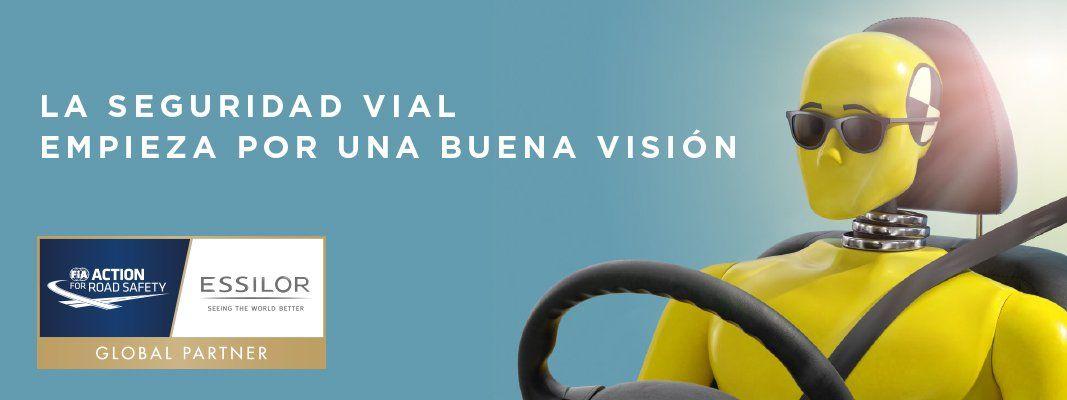 LA SEGURIDAD VIAL EMPIEZA POR UNA BUENA VISIÓN (CAMPAÑA VISIÓN Y CONDUCCIÓN)